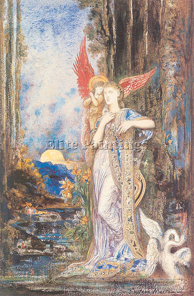 GUSTAVE MOREAU GM26 ARTIST PAINTING REPRODUCTION HANDMADE CANVAS REPRO WALL DECO