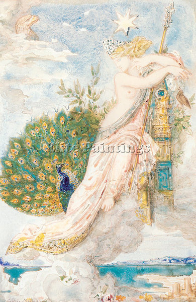 GUSTAVE MOREAU GM28 ARTIST PAINTING REPRODUCTION HANDMADE CANVAS REPRO WALL DECO