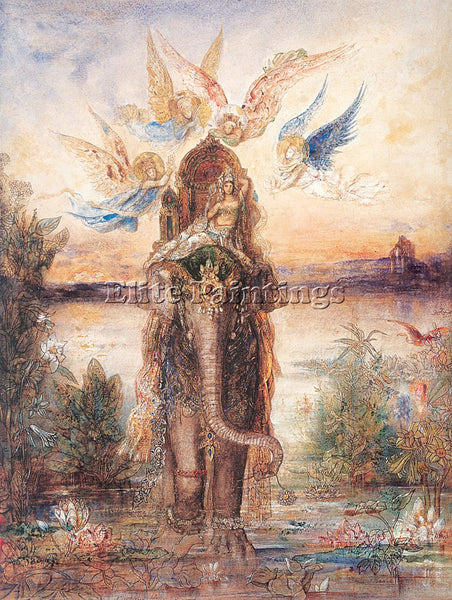 GUSTAVE MOREAU GM29 ARTIST PAINTING REPRODUCTION HANDMADE CANVAS REPRO WALL DECO