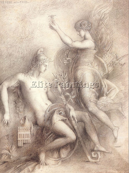 GUSTAVE MOREAU GM2 ARTIST PAINTING REPRODUCTION HANDMADE CANVAS REPRO WALL DECO