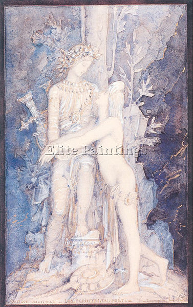 GUSTAVE MOREAU GM30 ARTIST PAINTING REPRODUCTION HANDMADE CANVAS REPRO WALL DECO