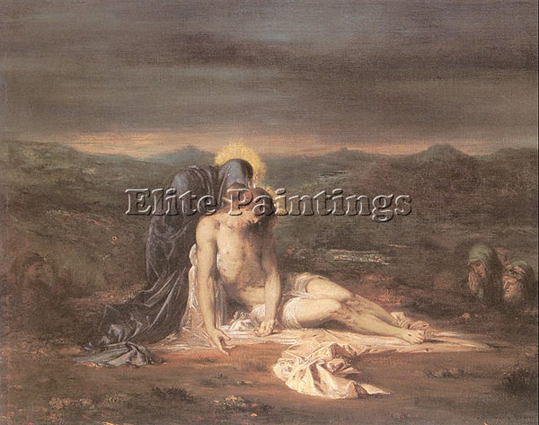 GUSTAVE MOREAU GM3 ARTIST PAINTING REPRODUCTION HANDMADE CANVAS REPRO WALL DECO