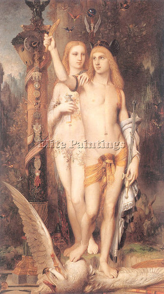 GUSTAVE MOREAU GM6 ARTIST PAINTING REPRODUCTION HANDMADE CANVAS REPRO WALL DECO