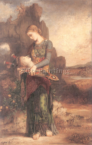 GUSTAVE MOREAU GM7 ARTIST PAINTING REPRODUCTION HANDMADE CANVAS REPRO WALL DECO