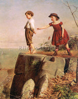 AMERICAN GUY SEYMOUR JOSEPH AMERICAN 1824 1910 ARTIST PAINTING REPRODUCTION OIL - Oil Paintings Gallery Repro