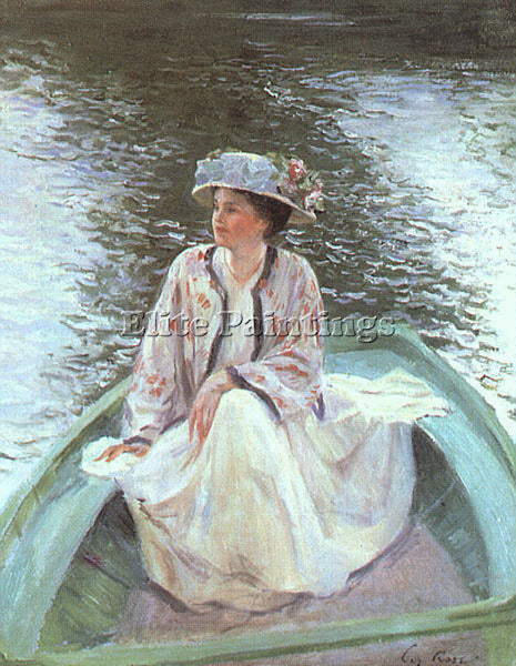 AMERICAN GUY ROSE WOMEN ARTIST PAINTING REPRODUCTION HANDMADE CANVAS REPRO WALL