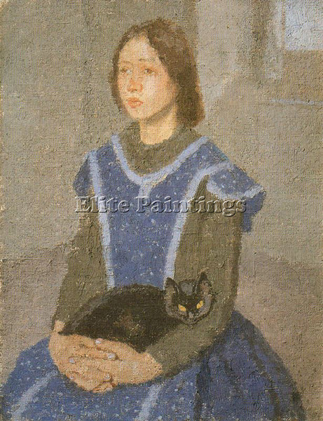 GWEN JOHN GWEN1 ARTIST PAINTING REPRODUCTION HANDMADE CANVAS REPRO WALL  DECO