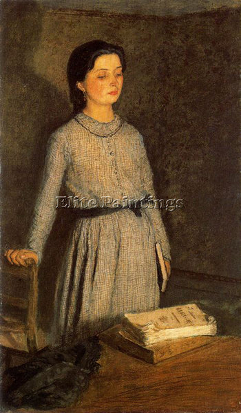 GWEN JOHN GWEN2 ARTIST PAINTING REPRODUCTION HANDMADE CANVAS REPRO WALL  DECO
