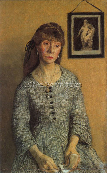 GWEN JOHN GWEN3 ARTIST PAINTING REPRODUCTION HANDMADE CANVAS REPRO WALL  DECO