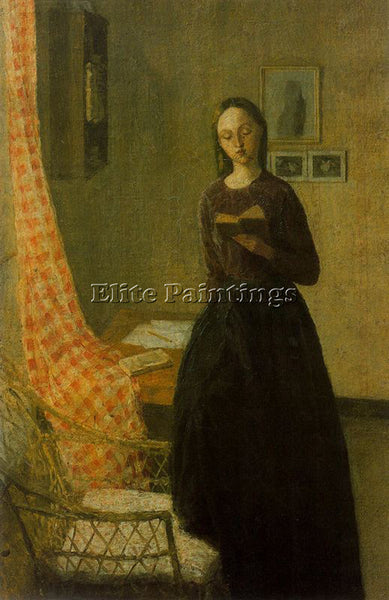 GWEN JOHN GWEN5 ARTIST PAINTING REPRODUCTION HANDMADE CANVAS REPRO WALL  DECO