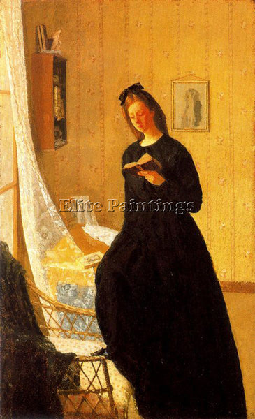GWEN JOHN GWEN7 ARTIST PAINTING REPRODUCTION HANDMADE CANVAS REPRO WALL  DECO
