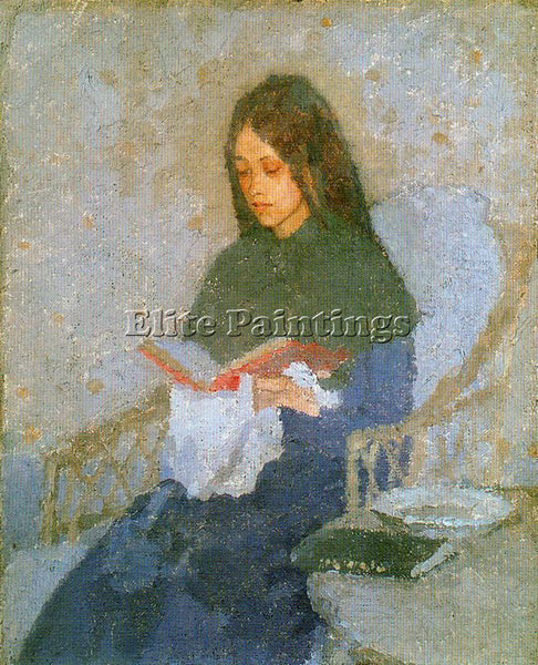 GWEN JOHN GWEN8 ARTIST PAINTING REPRODUCTION HANDMADE CANVAS REPRO WALL  DECO