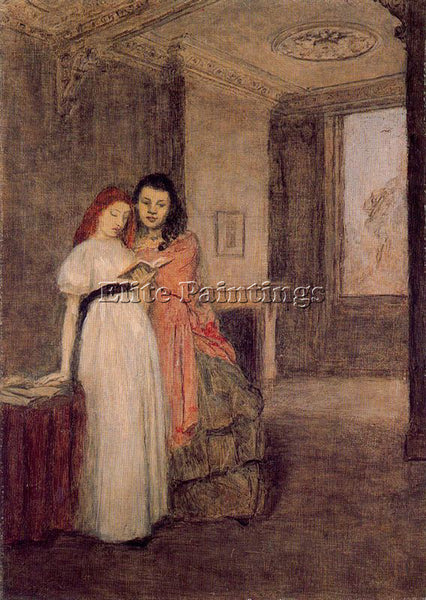 GWEN JOHN GWEN9 ARTIST PAINTING REPRODUCTION HANDMADE CANVAS REPRO WALL  DECO
