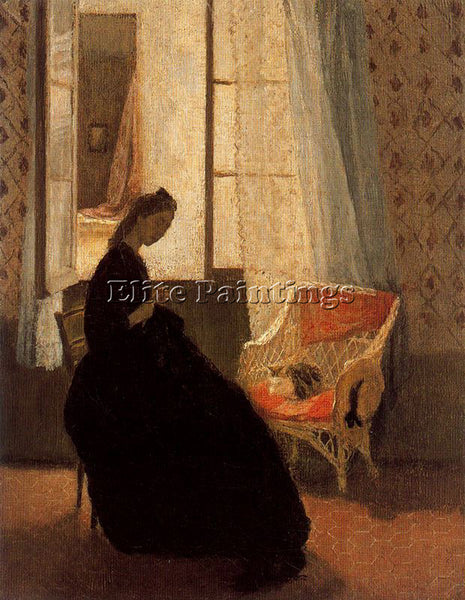 GWEN JOHN GWEN11 ARTIST PAINTING REPRODUCTION HANDMADE OIL CANVAS REPRO WALL ART