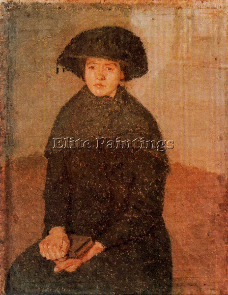 GWEN JOHN GWEN15 ARTIST PAINTING REPRODUCTION HANDMADE OIL CANVAS REPRO WALL ART