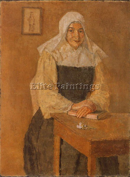 GWEN JOHN GWEN16 ARTIST PAINTING REPRODUCTION HANDMADE OIL CANVAS REPRO WALL ART