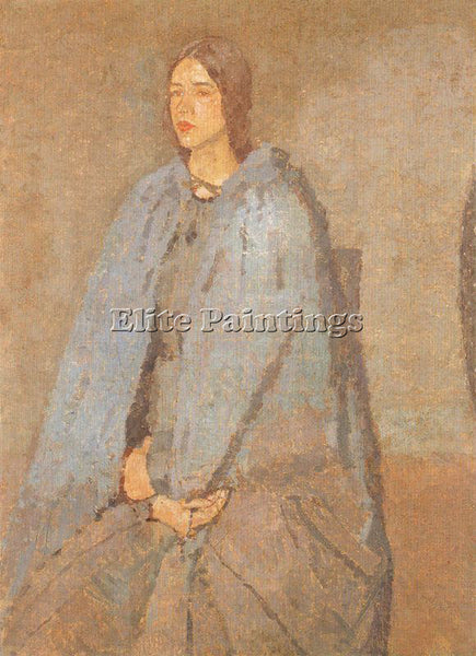 GWEN JOHN GWEN17 ARTIST PAINTING REPRODUCTION HANDMADE OIL CANVAS REPRO WALL ART