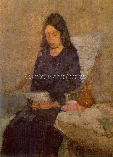 GWEN JOHN GWEN19 ARTIST PAINTING REPRODUCTION HANDMADE OIL CANVAS REPRO WALL ART