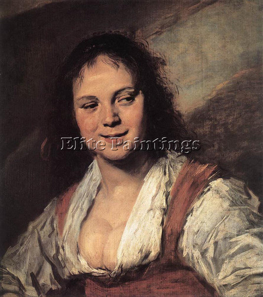 FRANS HALS GYPSY GIRL ARTIST PAINTING REPRODUCTION HANDMADE OIL CANVAS REPRO ART