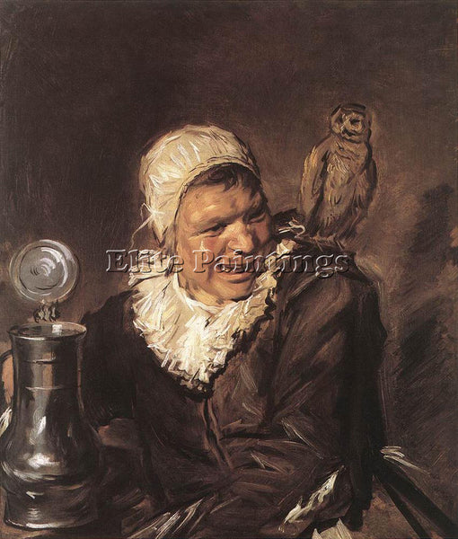 FRANS HALS MALLE BABBE ARTIST PAINTING REPRODUCTION HANDMADE CANVAS REPRO WALL