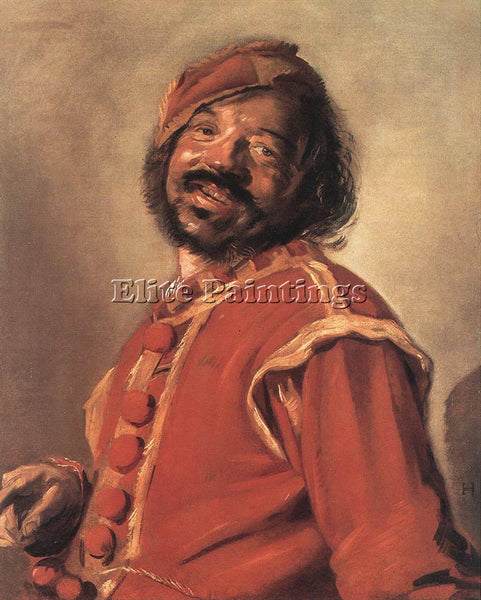 FRANS HALS MULATTO ARTIST PAINTING REPRODUCTION HANDMADE CANVAS REPRO WALL DECO
