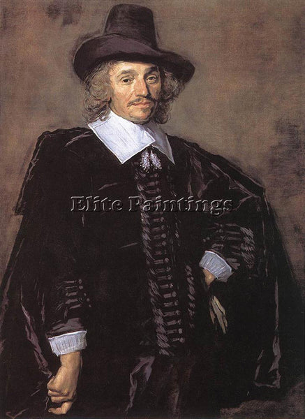 FRANS HALS PORTRAIT OF A MAN 1650 2 ARTIST PAINTING REPRODUCTION HANDMADE OIL