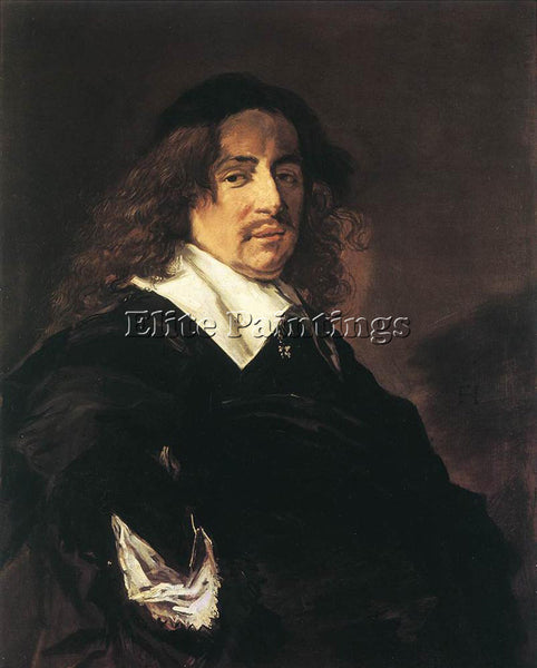 FRANS HALS PORTRAIT OF A MAN 1650 53 ARTIST PAINTING REPRODUCTION HANDMADE OIL