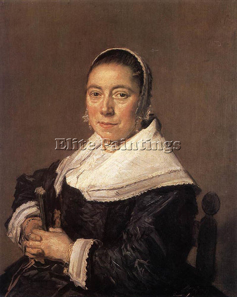 FRANS HALS PORTRAIT OF A SEATED WOMAN PRESUMEDLY MARIA VERATTI PAINTING HANDMADE