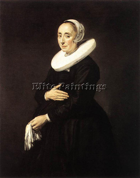 FRANS HALS PORTRAIT OF A WOMAN 1640 1 ARTIST PAINTING REPRODUCTION HANDMADE OIL