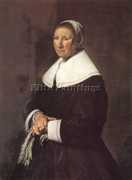 FRANS HALS PORTRAIT OF A WOMAN 1648 ARTIST PAINTING REPRODUCTION HANDMADE OIL