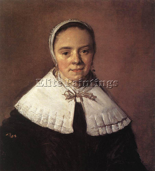 FRANS HALS PORTRAIT OF A WOMAN 1655 ARTIST PAINTING REPRODUCTION HANDMADE OIL