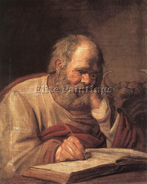 FRANS HALS ST LUKE ARTIST PAINTING REPRODUCTION HANDMADE CANVAS REPRO WALL DECO
