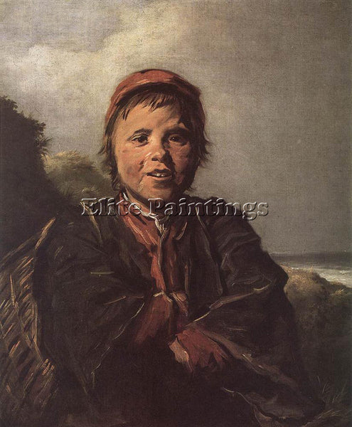 FRANS HALS THE FISHER BOY ARTIST PAINTING REPRODUCTION HANDMADE OIL CANVAS REPRO