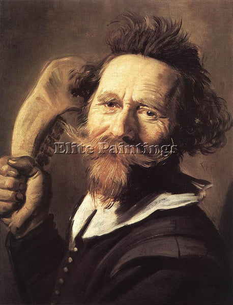 FRANS HALS VERDONCK ARTIST PAINTING REPRODUCTION HANDMADE CANVAS REPRO WALL DECO