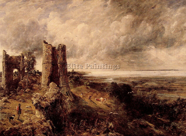 JOHN CONSTABLE HADLEIGH CASTLE ARTIST PAINTING REPRODUCTION HANDMADE OIL CANVAS