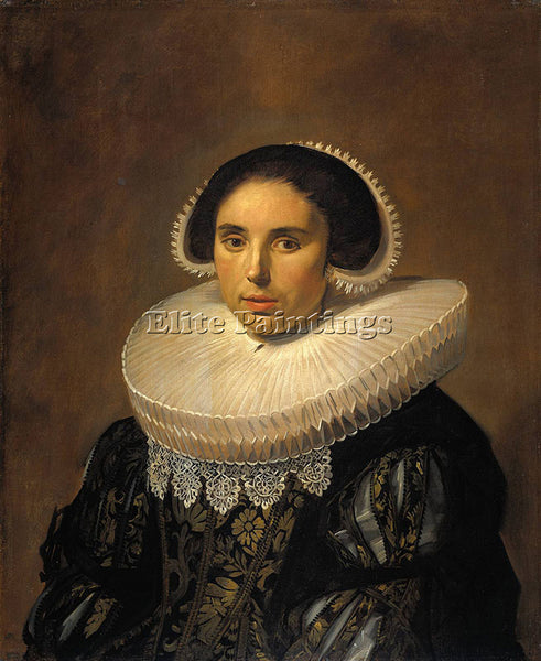 FRANS HALS PORTRAIT OF A WOMAN POSSIBLY SARA WOLPHAERTS VAN DIEMEN REPRODUCTION