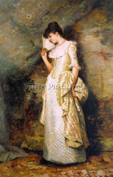 AMERICAN HAMILTON HAMILTON AMERICAN 1847 1928 1 ARTIST PAINTING REPRODUCTION OIL