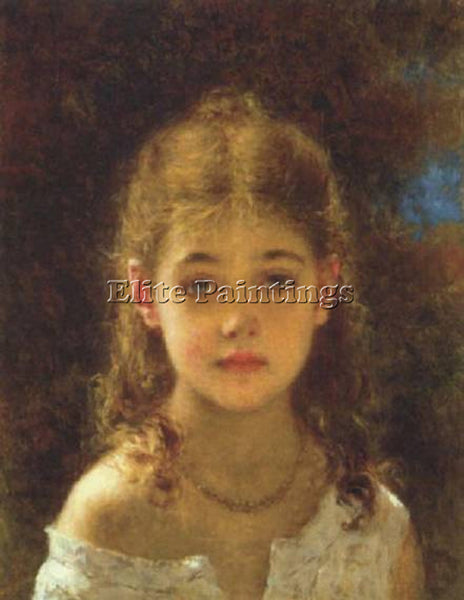 ALEXEI ALEXEIVICH HARLAMOFF ALEXEJE WITSCH MIGNON ARTIST PAINTING REPRODUCTION