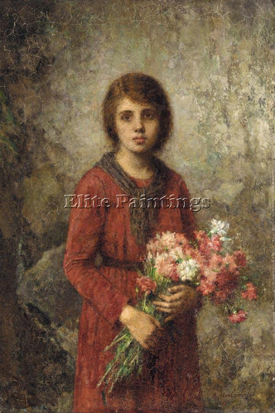 ALEXEI ALEXEIVICH HARLAMOFF ARTIST S DAUGHTER ARTIST PAINTING REPRODUCTION OIL