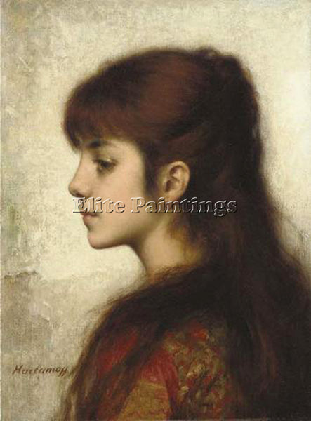 ALEXEI ALEXEIVICH HARLAMOFF CONTEMPLATION ARTIST PAINTING REPRODUCTION HANDMADE