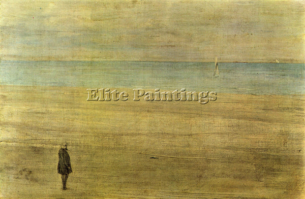 JAMES ABBOT MCNEILL HARMONY IN BLUE AND SILVER TROUVILLE WHISTLER ARTIST CANVAS