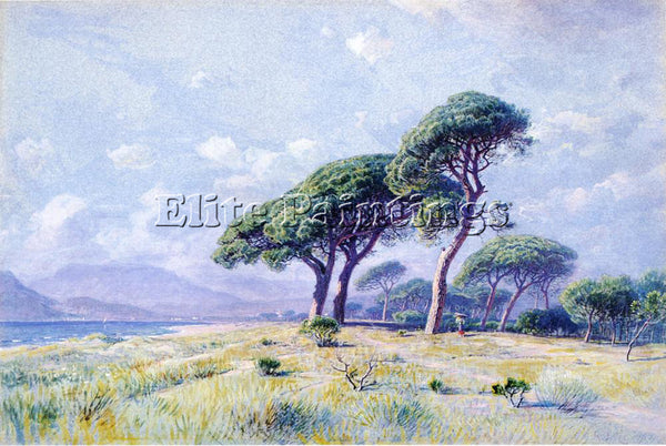 WILLIAM STANLEY HASELTINE CANNES ARTIST PAINTING REPRODUCTION HANDMADE OIL REPRO