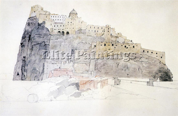 WILLIAM STANLEY HASELTINE ISCHIA ARTIST PAINTING REPRODUCTION HANDMADE OIL REPRO