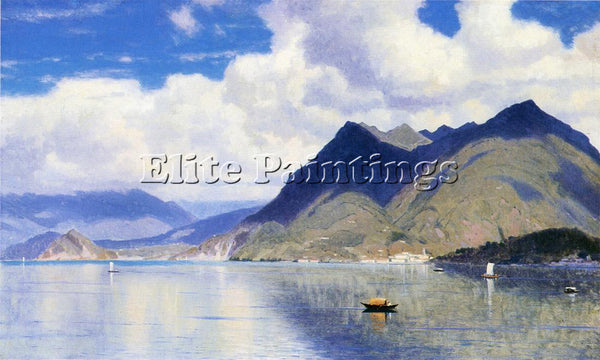 WILLIAM STANLEY HASELTINE LAGO MAGGIORE2 ARTIST PAINTING REPRODUCTION HANDMADE