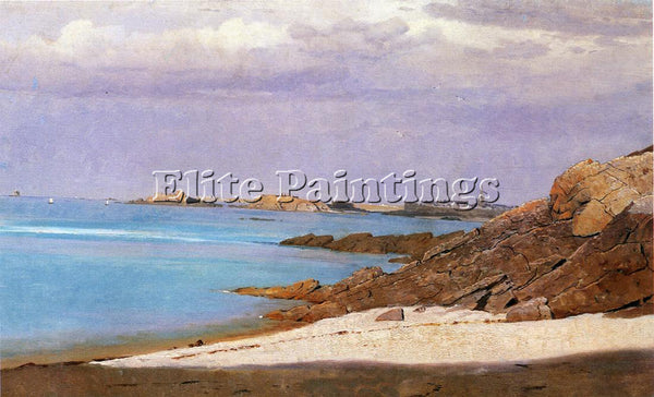 WILLIAM STANLEY HASELTINE SAINT MALO BRITTANY ARTIST PAINTING REPRODUCTION OIL