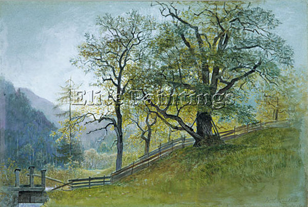 WILLIAM STANLEY HASELTINE VAHM IN TYROL NEAR BRIXEN ARTIST PAINTING REPRODUCTION
