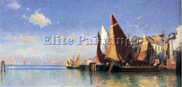 WILLIAM STANLEY HASELTINE VENICE I ARTIST PAINTING REPRODUCTION HANDMADE OIL ART