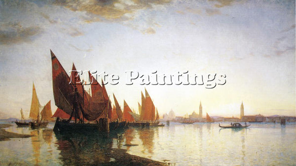 WILLIAM STANLEY HASELTINE VENICE ARTIST PAINTING REPRODUCTION HANDMADE OIL REPRO
