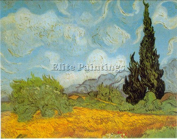 VAN GOGH HAUTE GAFILLE ARTIST PAINTING REPRODUCTION HANDMADE CANVAS REPRO WALL