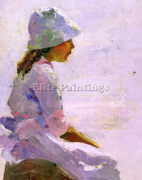 AMERICAN HAWTHORNE CHARLES AMERICAN 1872 1930 ARTIST PAINTING REPRODUCTION OIL